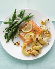 SALMON- SPICEY CAULIFLOWER